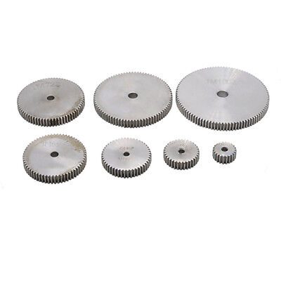 1 Mod 27T Spur Gear 45# Steel Pinion Gear Thickness 10mm Outer Dia 29mm x 1Pcs 4