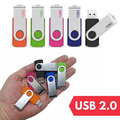 USB Flash Memory Drive 2.0 High Speed Stick Pen Thumb 8GB 16GB 32GB 64GB 128GB 3