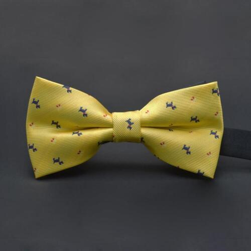Men Fashion Adjustable Satin Tuxedo Classic Novelty Wedding Bow Tie Necktie