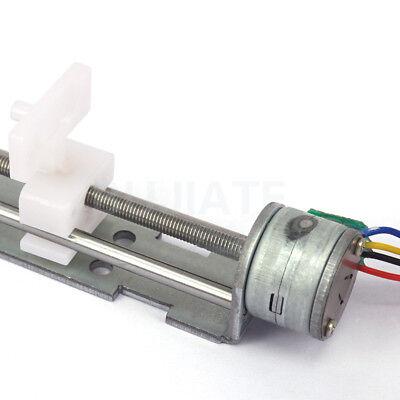90mm Lead Screw Slider 4-9V 2-phase 4-wire Stepper Motor Pull Push Rod Actuator 3