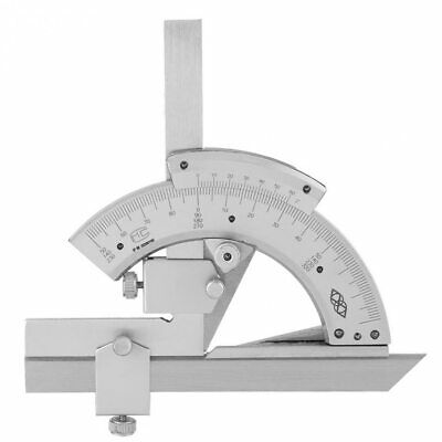 Universal Bevel Protractor Vernier Mitutoyo Machinist Angle Finder Pro Mechanic 2