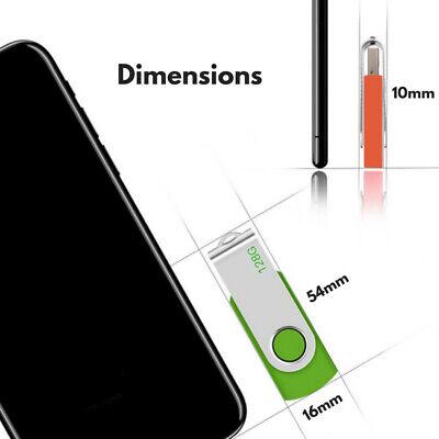 USB Flash Memory Drive 2.0 High Speed Stick Pen Thumb 8GB 16GB 32GB 64GB 128GB 4