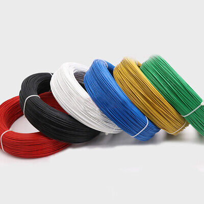 UL1332 22AWG Teflon FEP Wire Single Core Stranded Tinned Copper Cable O.D 1.36mm 4