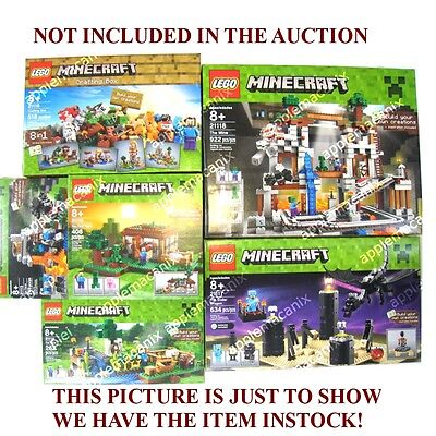 New Lego Minecraft The Ender Dragon 21117 Steve Minifigure W Diamond Armor Sword 29 90 Picclick ▬▬▬▬▬▬▬▬▬▬▬▬▬ facebook ► logdotzip twitch ►. new lego minecraft the ender dragon