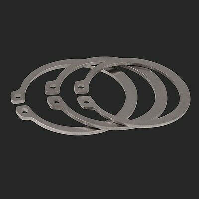 A2 304 Stainless Steel Ф10mm External Retaining Ring Circlip Snap Ring 4