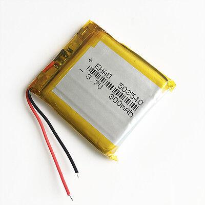 3.7V 800mAh 503540 Lipo Li-Polymer Battery cells For Recorder GPS PDA Camera DVD 4