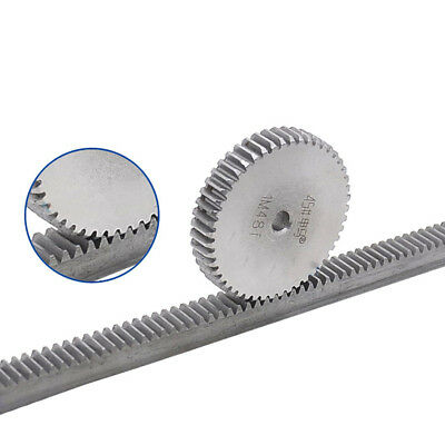 1 Mod 27T Spur Gear 45# Steel Pinion Gear Thickness 10mm Outer Dia 29mm x 1Pcs 3
