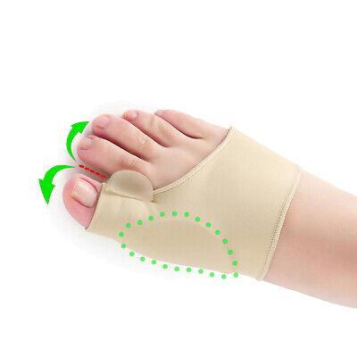2x Toe Bunion Splint Straightener Corrector Hallux Valgus Gout Pain Foot Brace 8
