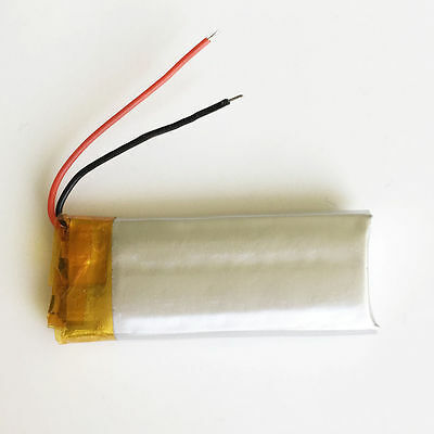 280MAH 3 7V RECHARGEABLE Lipo Li-Polymer Battery for Bluetooth Camera GPS  501540