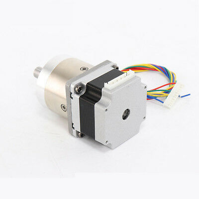 Nema 23 Stepper Motor 57mm Planetary Gear Motor 12mm Shaft 1:3.6 - 1:807 Ratio 6
