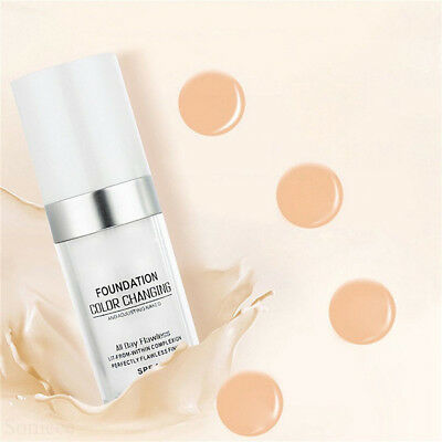 Magic Flawless Color Changing Foundation TLM Makeup Change To Your Skin Tone  E1 7