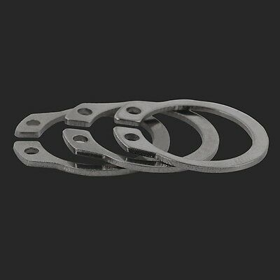 A2 304 Stainless Steel Ф10mm External Retaining Ring Circlip Snap Ring 3
