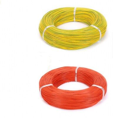 Stranded Electrical Equipment Wire Hookup Cable 18AWG 34/0.14TS - Various Colour