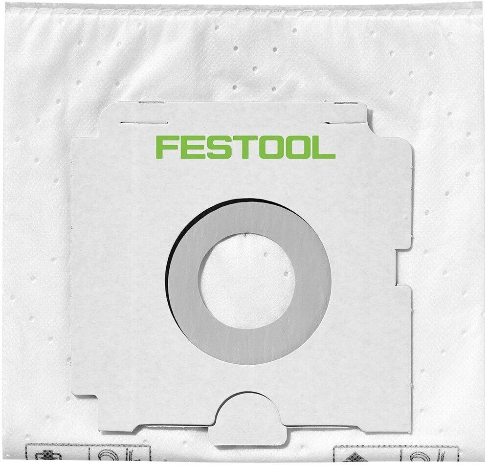 Festool 5x SELFCLEAN Vlies Filtersack SC FIS-CT 26/5 496187 für CTL 26 CTM 26 2
