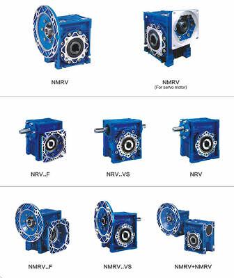 Gearbox Worm Gear Reducer NEMA34 Stepper Motor Ratio 10 20 25 40 50 60 80 100:1 11