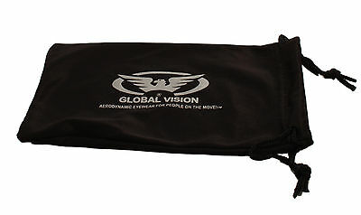 New Motorcycle Wraparound Sunglasses/UV400 Biker Glasses + Free Pouch & Postage