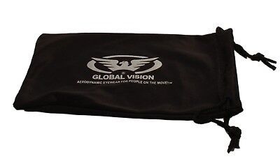 1 clear and 1 smoked UV400 motorcycle/biker glasses/sunglasses Inc pouches & P&P