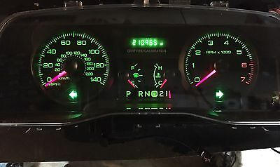 Free Shipping Repair Service  Ford Crown Victoria Cvpi Gauge Cluster Odometer Display