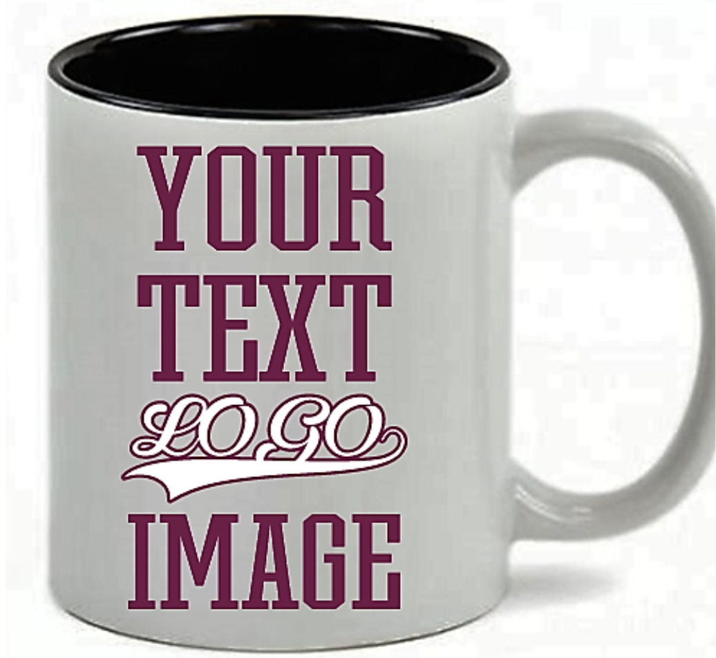 1 of 12free shipping personalized coffee mug custom photo text logo name printed gift 11oz 15oz