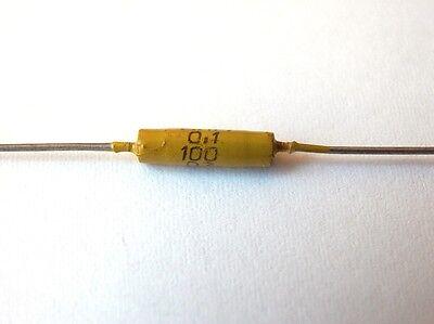 40uH 0.1A ex-USSR INDUCTOR AXIAL RF CHOKE QTY=20 NOS
