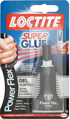 LOCTITE Super Glue - Power Flex Gel Control - Flexible Adhesive - 3g BOTTLE 2