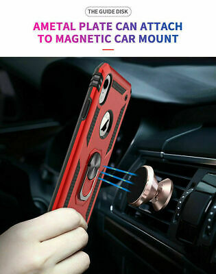 For iPhone 11 Pro XS Max XR 7 8 Plus Shockproof Magnetic Heavy Duty Case Cover 4