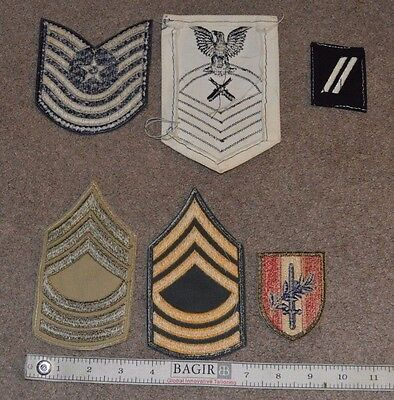 a587567c99d VTG LOT OF 6 WWII Era Military Patches Retro Army Navy -  17.50 ...