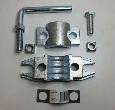 Serrated Steel Clamp 48Mm Ribbed Trailer Jockey Wheel Prop Stand Maypole Mp97455 7
