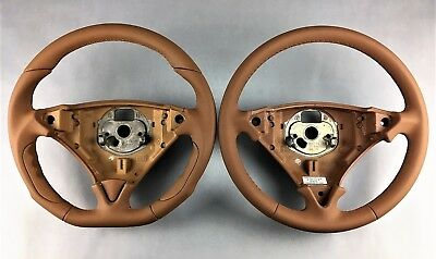 Porsche Lenkrad Cayenne Tuning Neu Beziehen Sandbeige S 955 957 77080