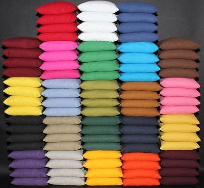 Set of 8 Cornhole Bags ACA Regulation Size Pick Your Colors Top Quality Handmade 5