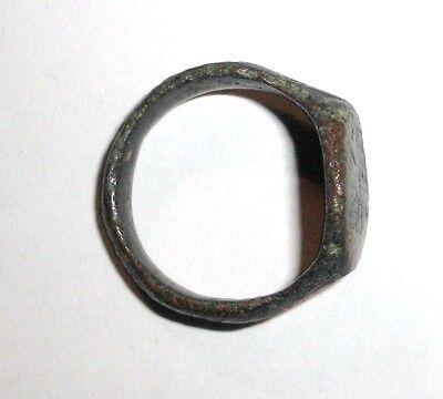 Ancient Roman Empire, 1st - 3rd c. AD. Bronze Ring 3