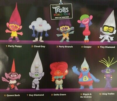 McDONALD'S 2020 TROLLS WORLD TOUR - PICK YOURS - READY TO SHIP 2