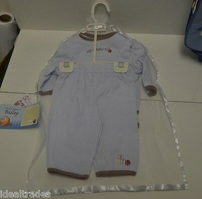 ALLY /& BAILEY BABY BOY BLUE LAYETTE CLOTHING BLANKET SET ULTIMATE SHOWER GIFT 6m