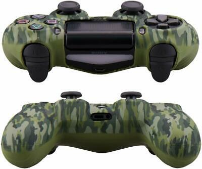 Camo Silicone Rubber Skin Case Gel Cover Grip for Playstation 4 PS4 Controller 7