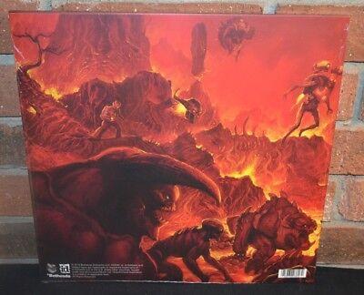 DOOM - GAME SOUNDTRACK, Limited 2LP 1st Press 180G RED VINYL New & Sealed! 3