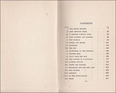 1919 Charles Morgan THE GUNROOM, Novel Based on his ROYAL NAVY Service 1907-1913 4