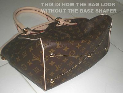 7fc124867c8f ... Brown Base Shaper Liner that fit the Louis Vuitton Tivoli GM bag 6