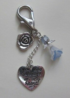 Memory Memorial Keepsake Card Gift Charm Bereavement Loss Remembrance Day Angel 5