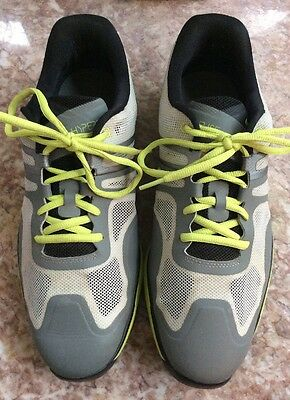 new concept 24c69 d0869 2 of 8 Nike Lunar Ascend II Men s Grey Black Venom Green Golf Shoes Size 10