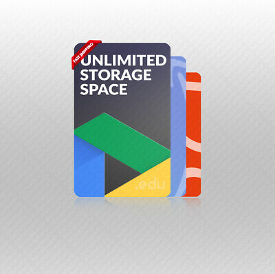 🔥Unlimited Storage Google Drive + One D5T + 365Fre Forever⚡Lighting Service 3