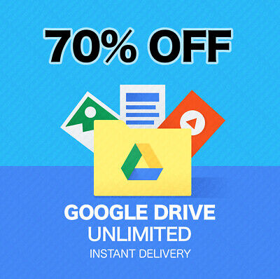 Unlimited Storage Google Drive On New Acc + 5Tb One D + 365 New Ac Hurry 3