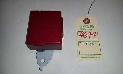 2001 Toyota Highlander Receiver Door Control Module OEM 89741-48070 #4674 3