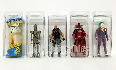 STAR WARS BLISTER CASE LOT 4 Action Figure Display Protective Clamshell MEDIUM