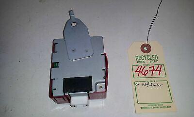 2001 Toyota Highlander Receiver Door Control Module OEM 89741-48070 #4674 5
