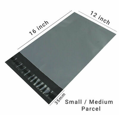 GREY Postal Packaging Bags Plastic Parcel Mailing Packing Envelopes Polythene XX 3