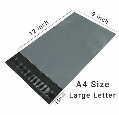 GREY Postal Packaging Bags Plastic Parcel Mailing Packing Envelopes Polythene XX 5