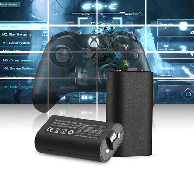 Rechargeable Li-ion Battery Pack Play & Charge Kit for Microsoft Xbox One USA 6