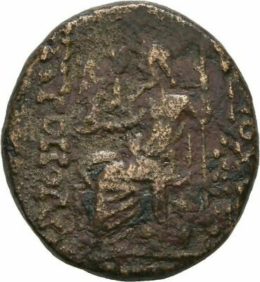 Ancient Greece 1 Cent BC SYRIA SELEUCIS PIERIA ANTIOCH ZEUS THRONE #3 2