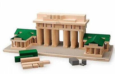 Erzi Architect Brandenburger Tor aus Holz 184 Teile Spielzeug Motoriktrainer 2
