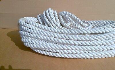 Seil Baumwolle, Baumwollseil  gedreht, 6-20 mm, Natur, Fesselseil, geflochten
